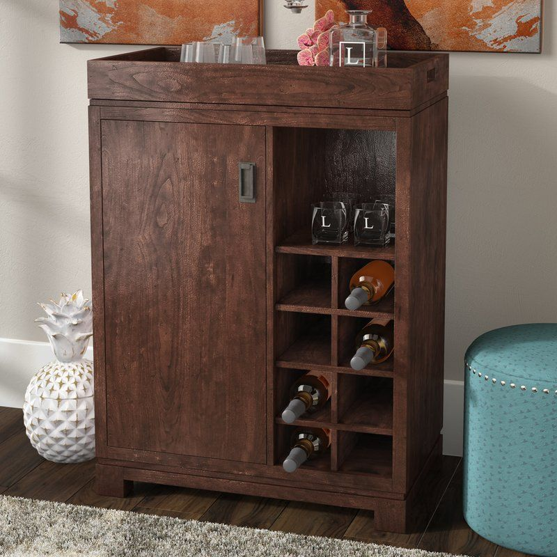Groff Bar Cabinet With Wine Storage Dining Room