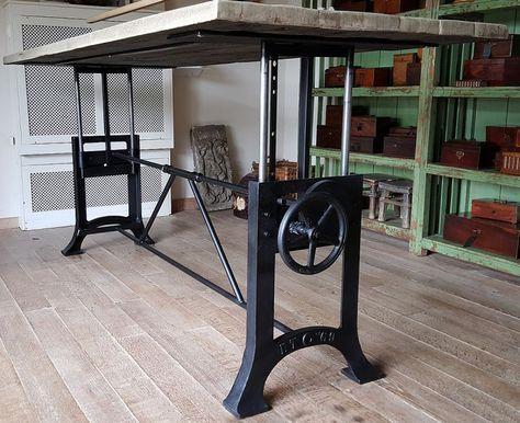 Einzigartige in Höhe verstellbare Industrial Tisch