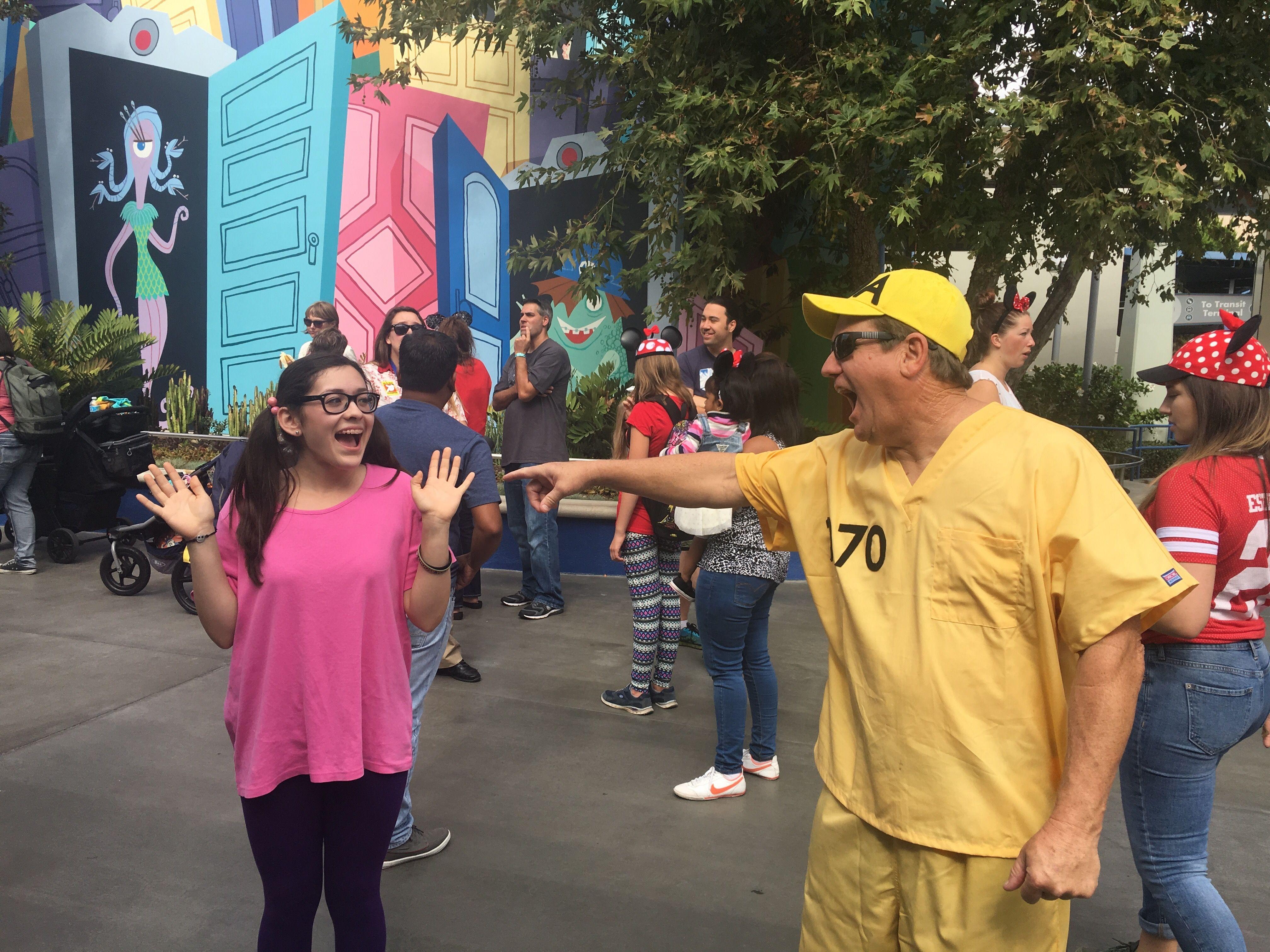 CDA costume with Boo  Monsters Inc DIY costumes  Disney