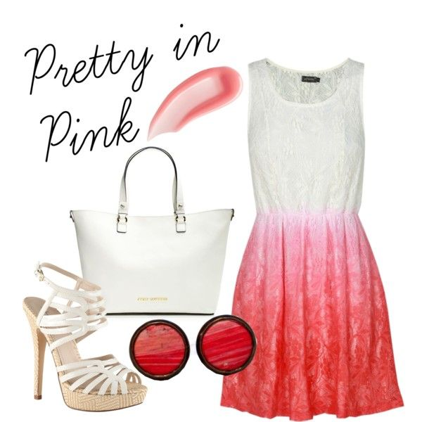 """""""Pretty in Pink"""" by mayychiu on Polyvore"""