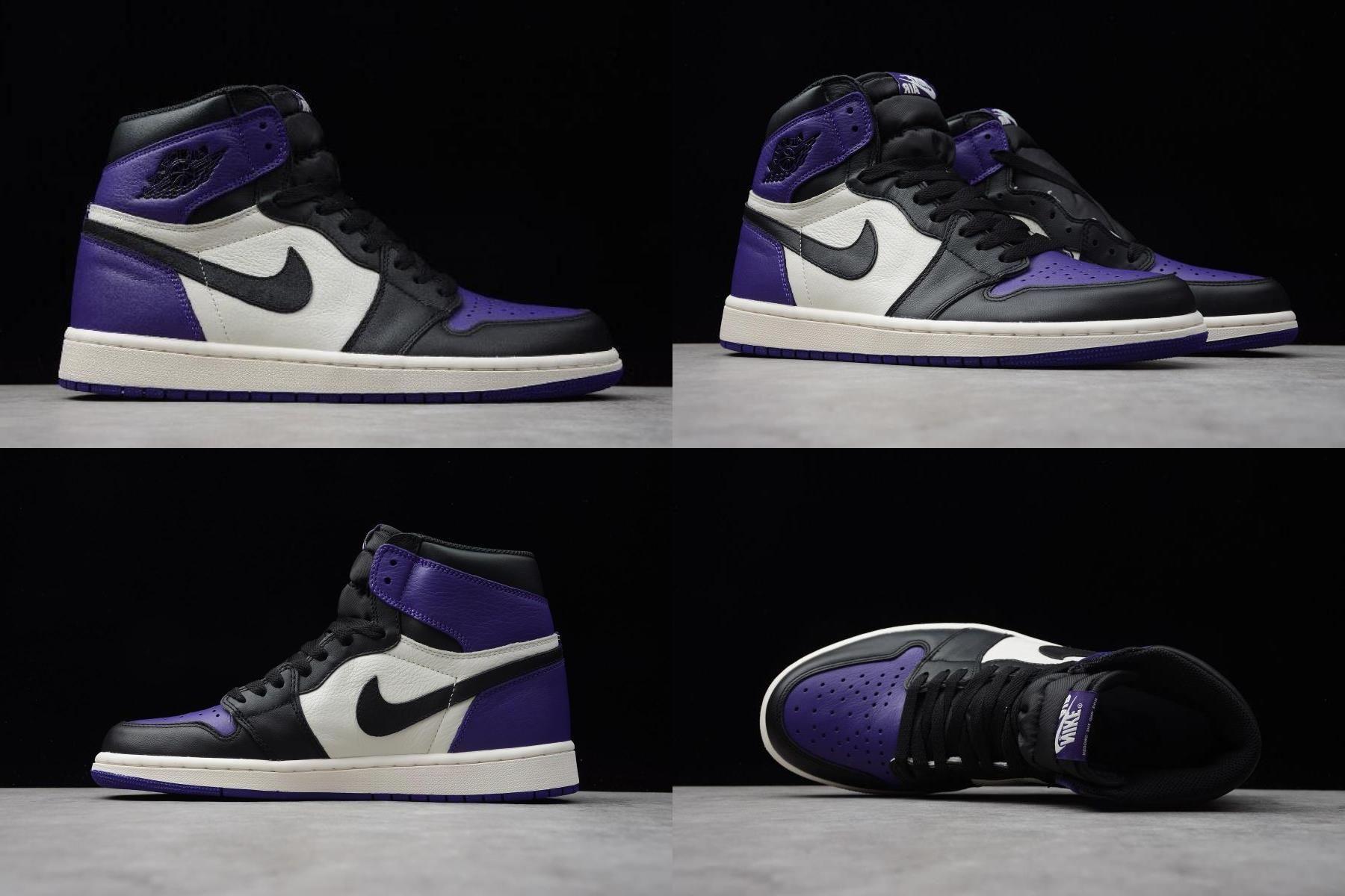 """Air Jordan 1 High Og """"court Purple"""" 555088501 For in 2020"""