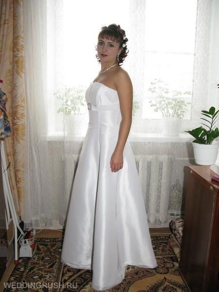 Свадебное платье без обручей