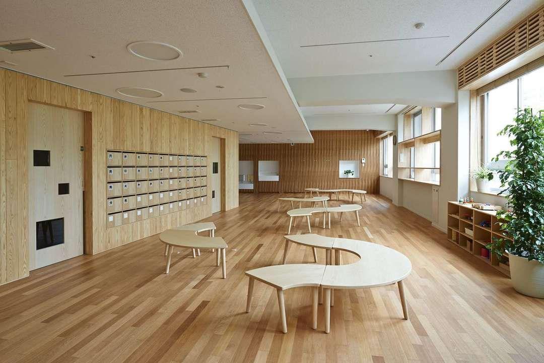 Formative Architecture: 7 Edifying Japanese Kindergartens   Architizer.  Kindergarten InteriorLearning SpacesSchool ...
