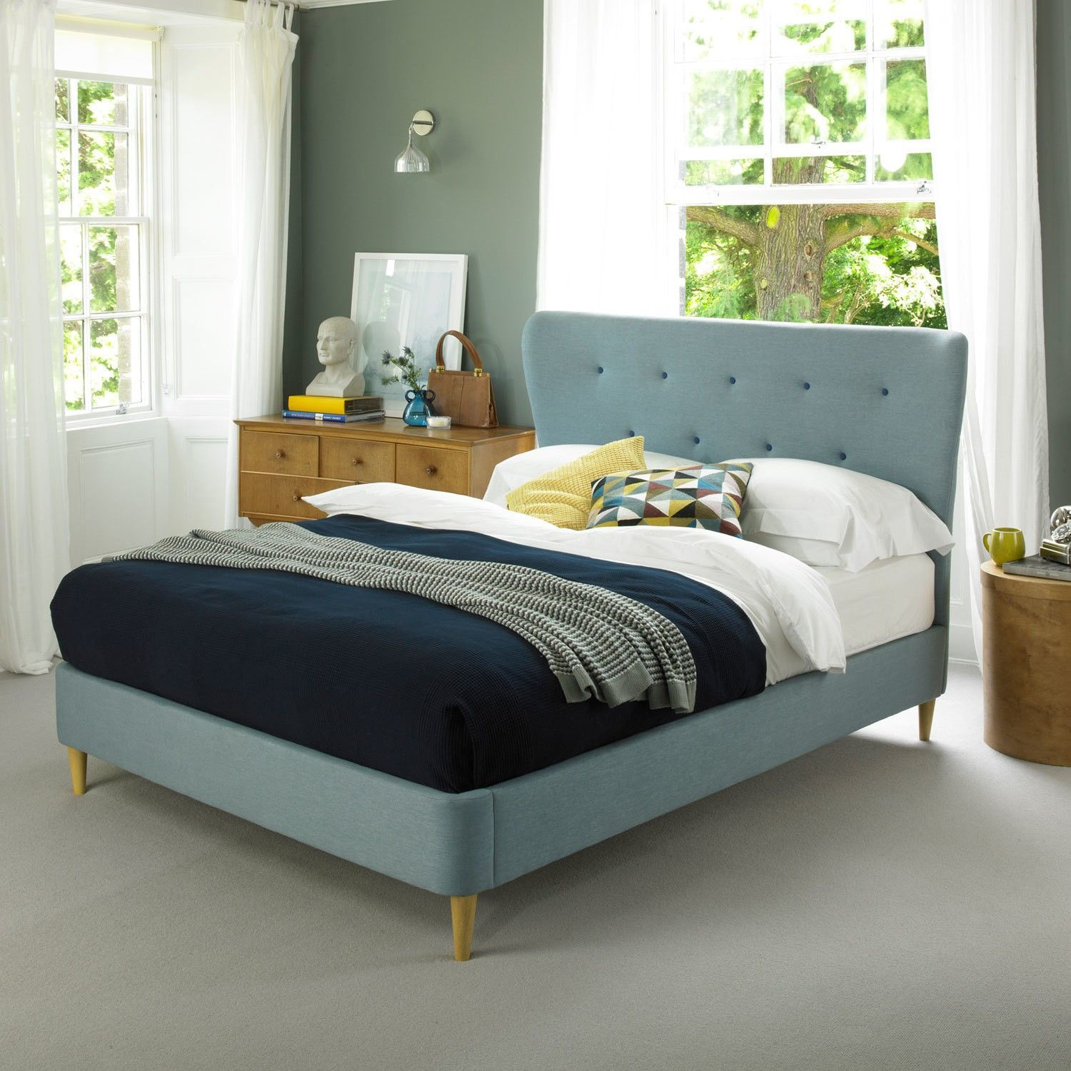 Buy Esme Fabric Bed Frame At Carpetright We Make Choosing