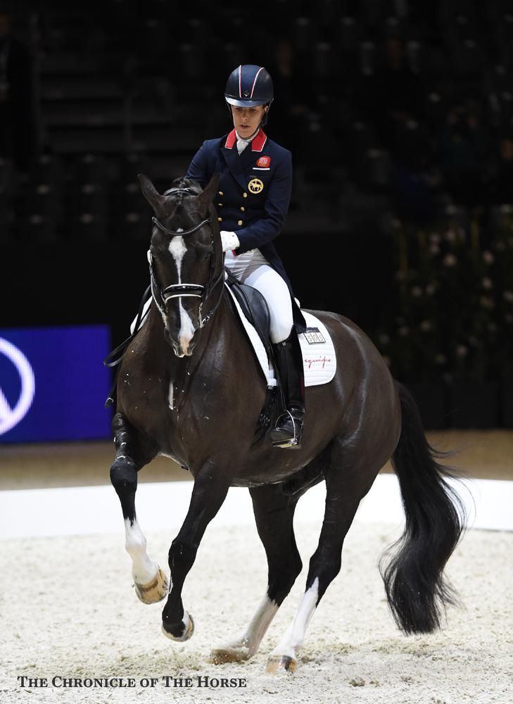 Flawless all eyes were on charlotte dujardin and valegro for Charlotte dujardin