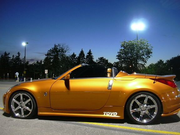check out customized luckyluk's 2005 nissan 350z touring roadster 2d