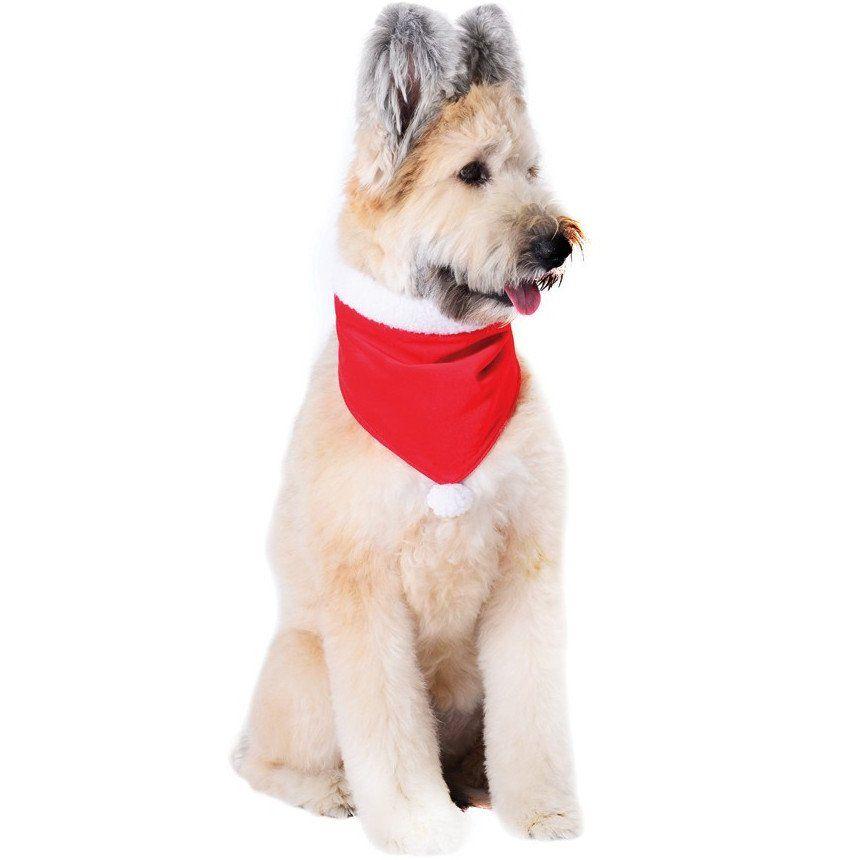 Harry Barker Red Velvet Santa Hat Dog Bandana Waiting On Martha Velvet Dog Dog Bandana Dog Holiday