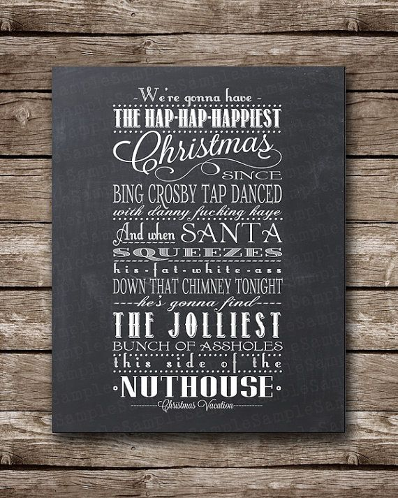 Quotes From Christmas Vacation.Christmas Vacation Quote Clark Griswold Jpeg Printable
