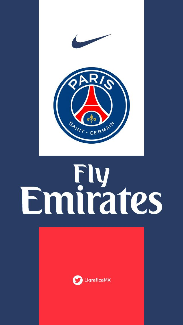 PSG NIke O IPhone5 Wallpaper LigraficaMX 260214CTG