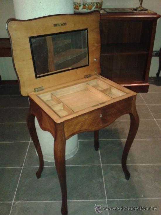 Costureros antiguos de madera buscar con google - Sofas antiguos de madera ...