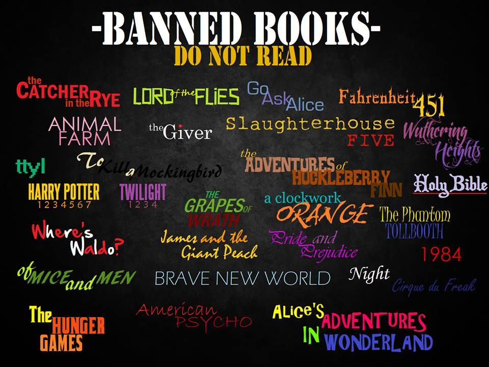 Banned Books Do Not Read Banned Books Banned Books Week Book Week