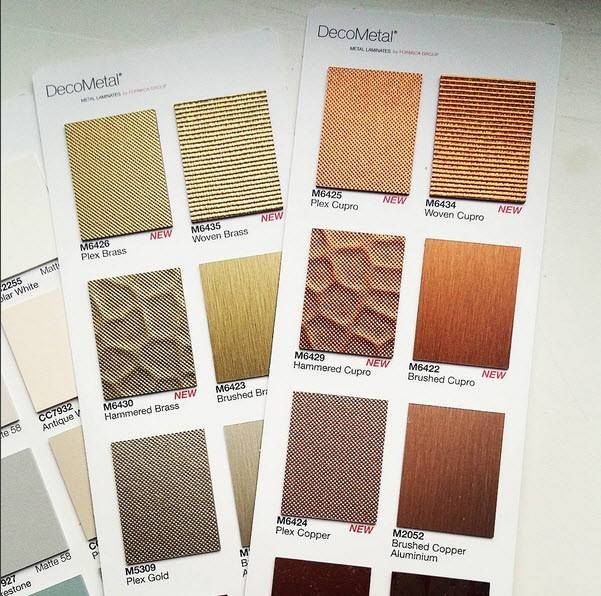 Decometal: textured metallic foil with laminate benefits: practical ...