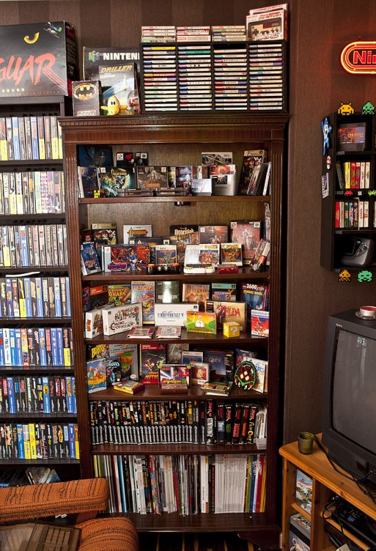 Game Collection My Retro Room Re Visited Retro Games Room Video Game Rooms Retro Room