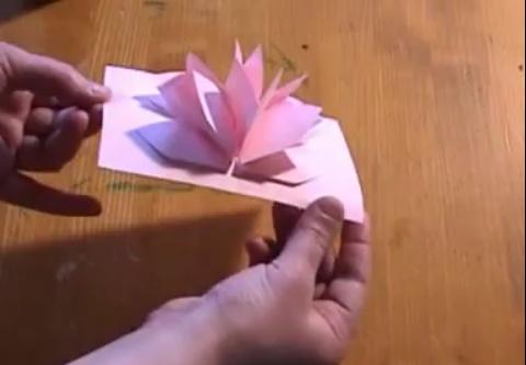 Paper Loto Flower Como Hacer Flores Tarjetas Con Flores Como Hacer Tarjetas