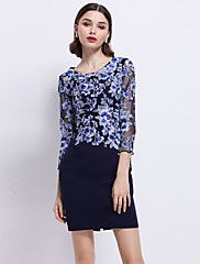 c2c66f1a3536 Women s Going out Work Beach Sexy Sophisticated Sheath Dress ...
