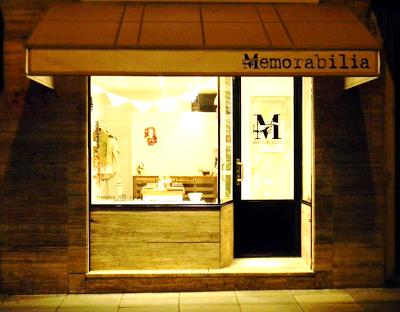 Memorabilia ■ Bazar Contemporáneo