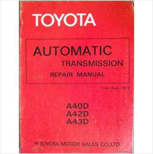 a43d toyota transmission