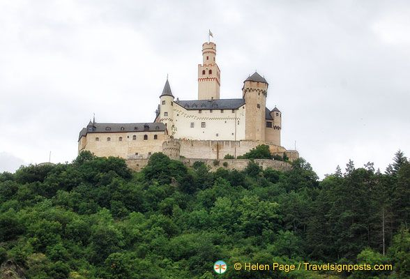Marksburg Castle Rhine Castle Rhine River Cruise Rhine River Cruise River Cruises European River Cruises