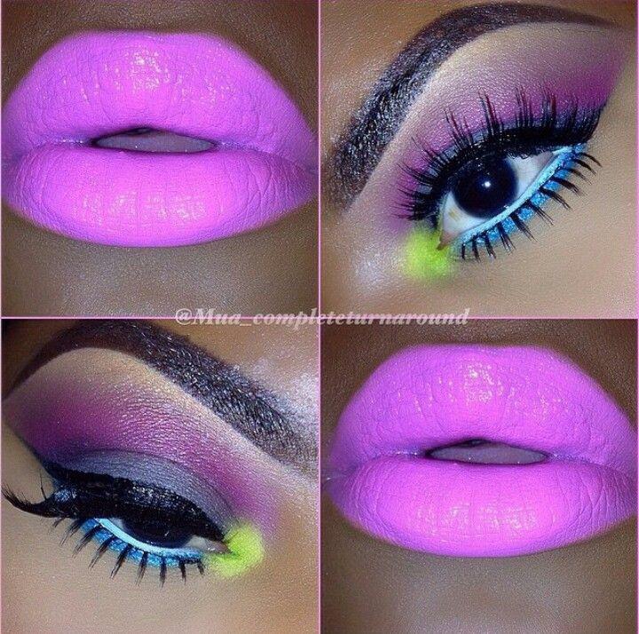 Gorgeous and unique makeup