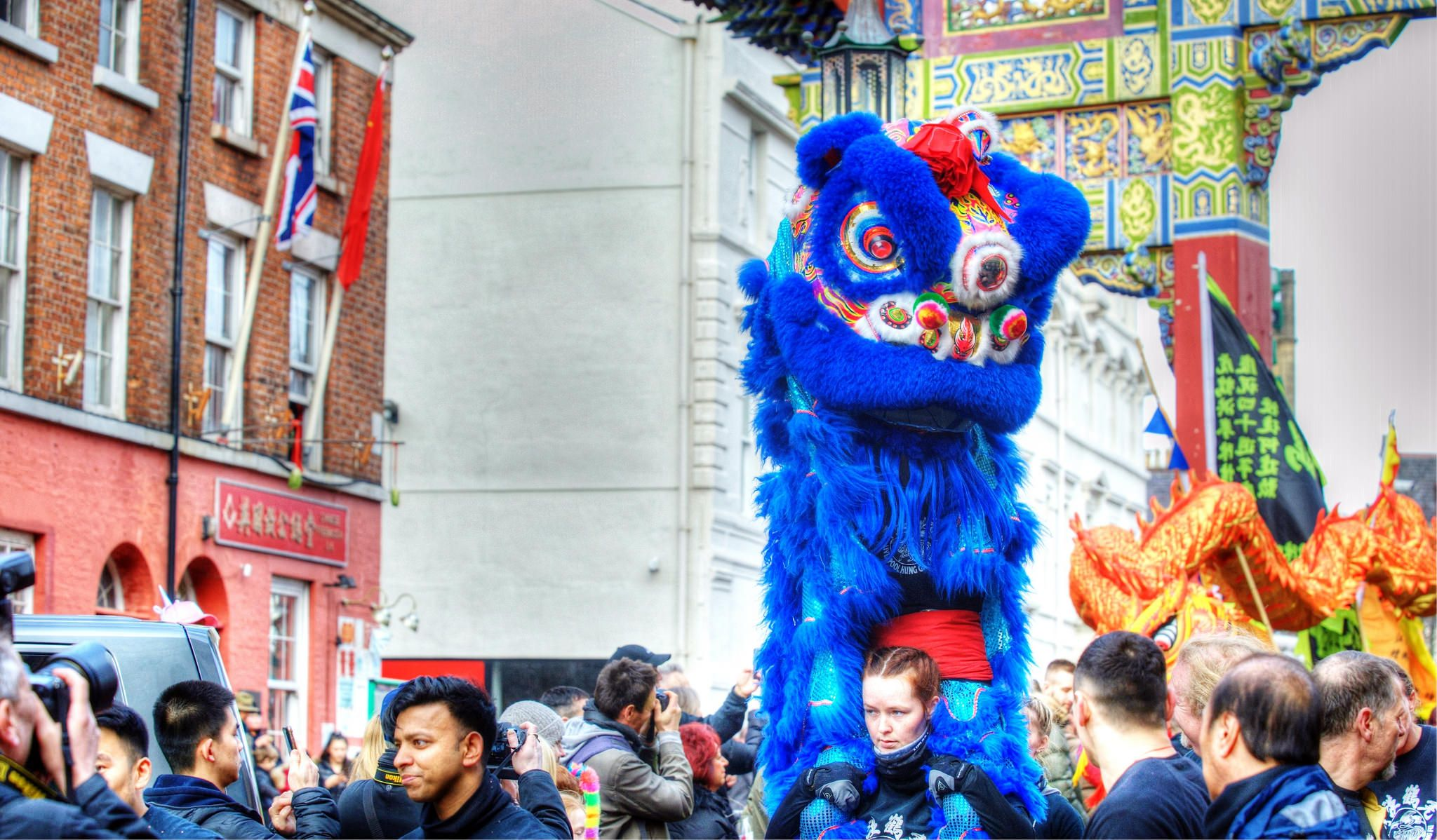 Liverpool's Chinatown Chinese new year, Liverpool, New