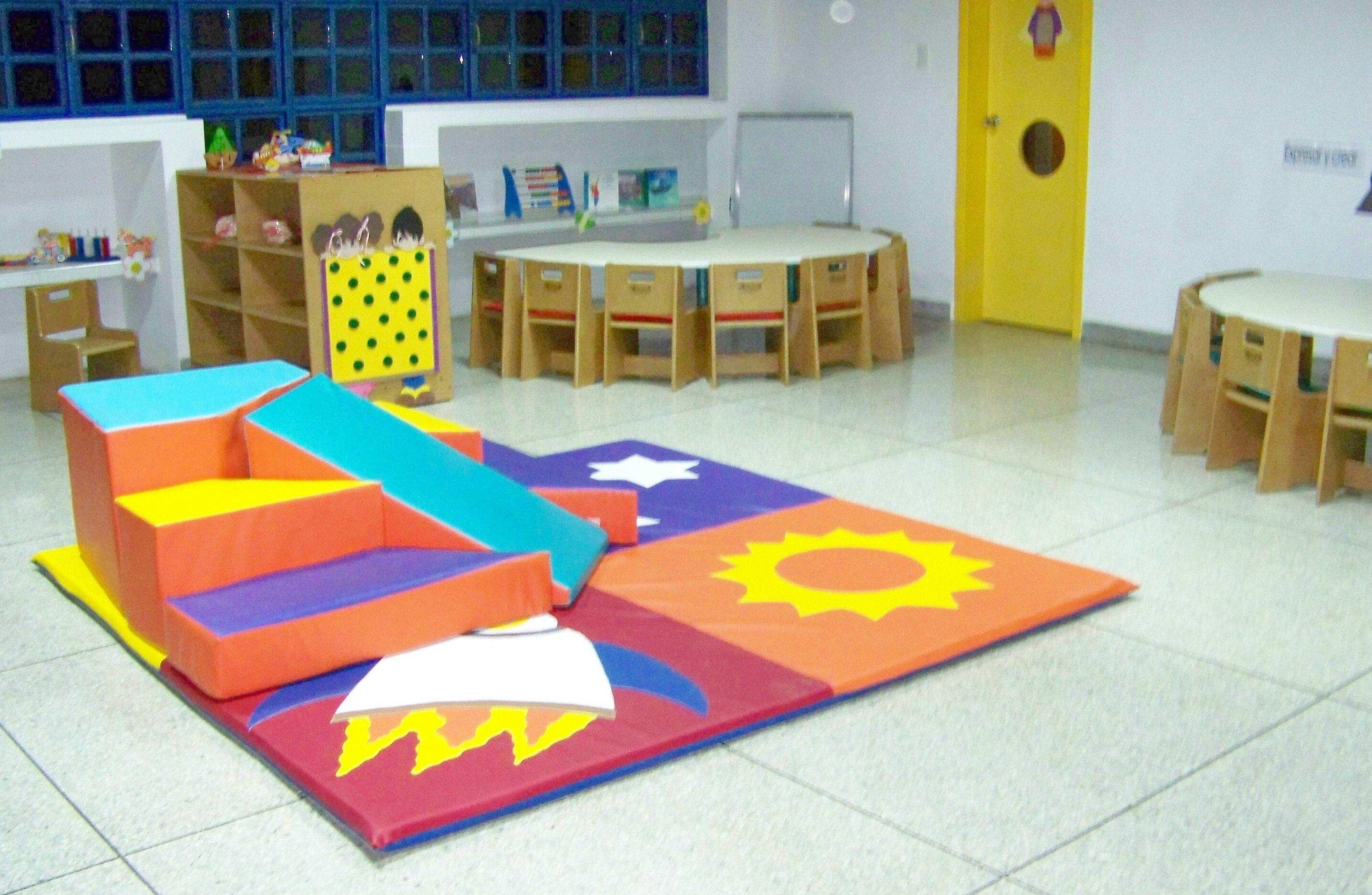 Espacios Kokimiko Con Mesas Anat Micas Y Minigyms En Areas  # Muebles Educativos