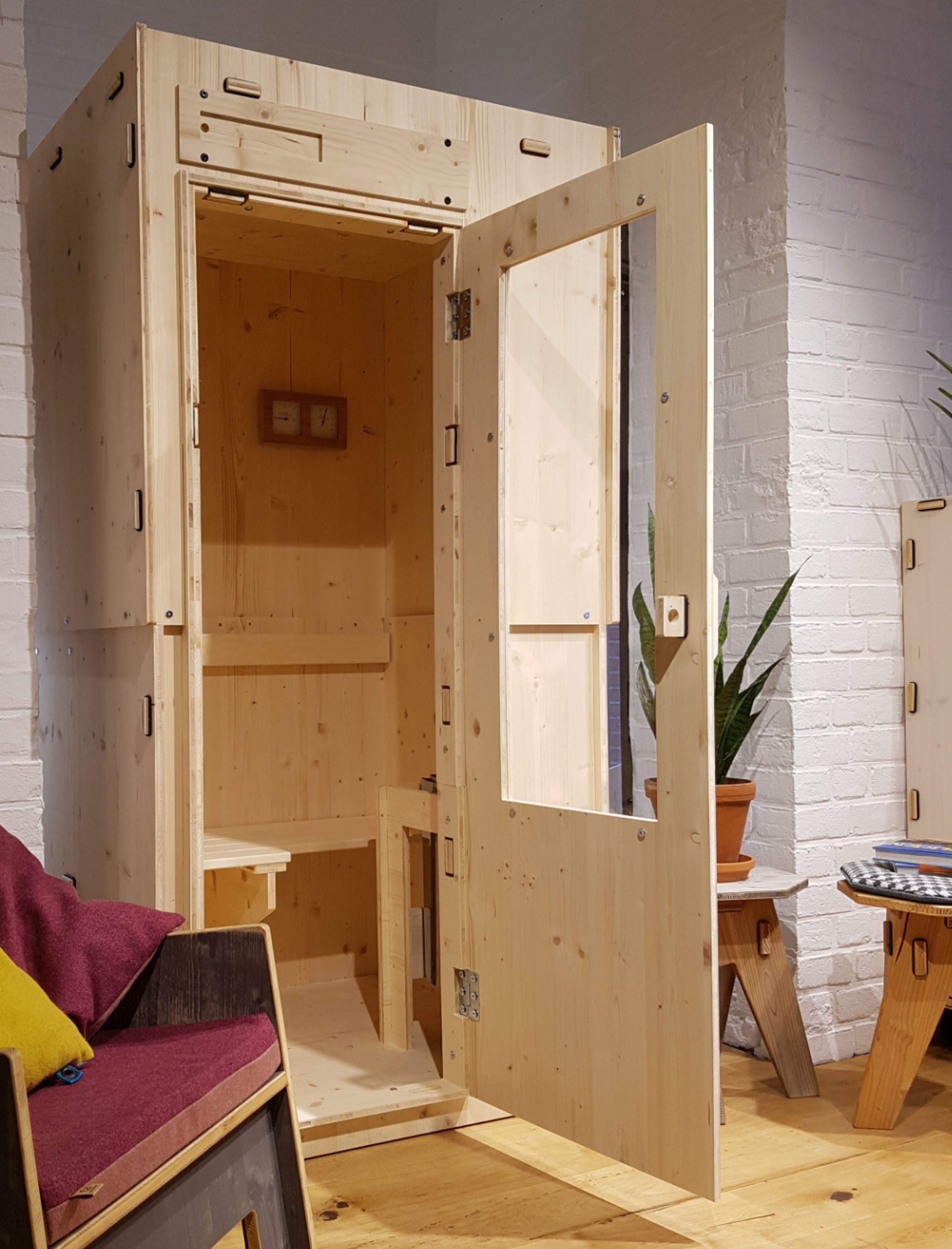 Der sauna in ständer Moritz kriegt