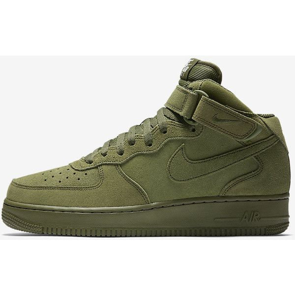 the best attitude be876 9a03a Nike Air Force 1 Mid 07 Men s Shoe. Nike.com ( 95) ❤ liked on Polyvore  featuring men s fashion, men s shoes, nike mens shoes and mens shoes