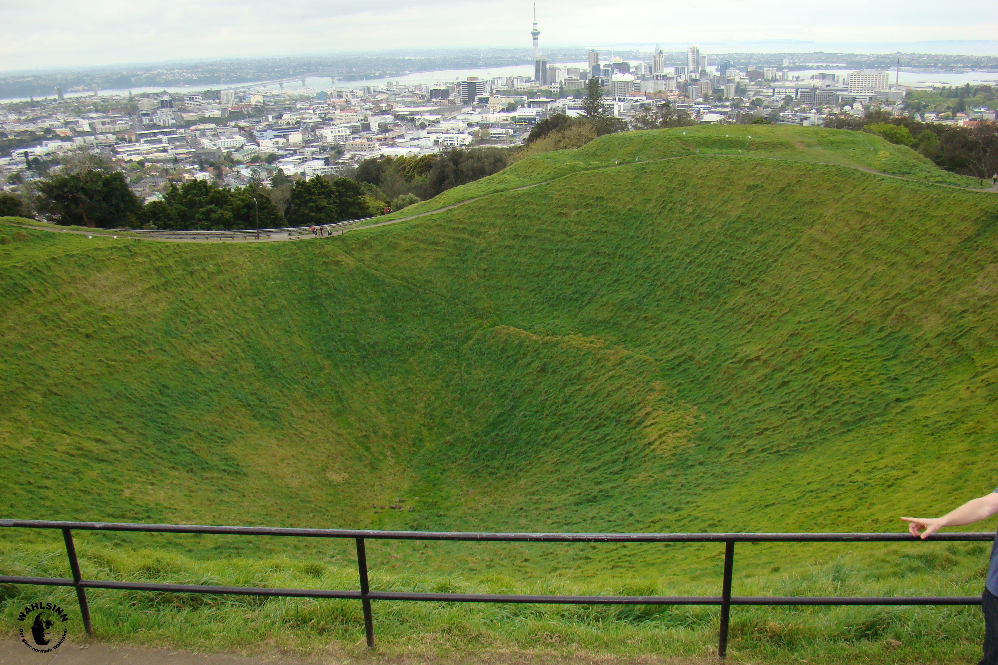Neuseeland - Mount Eden // Aussicht auf Auckland