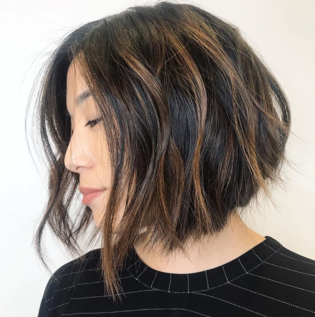 60 Most Beneficial Haircuts For Thick Hair Of Any Length Asian