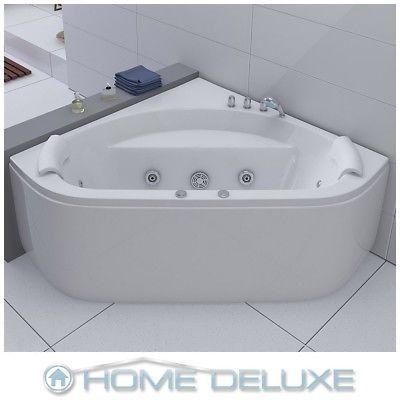 Whirlpool Eckbadewanne Badewanne Wanne Pool Thermostat Spa Acryl