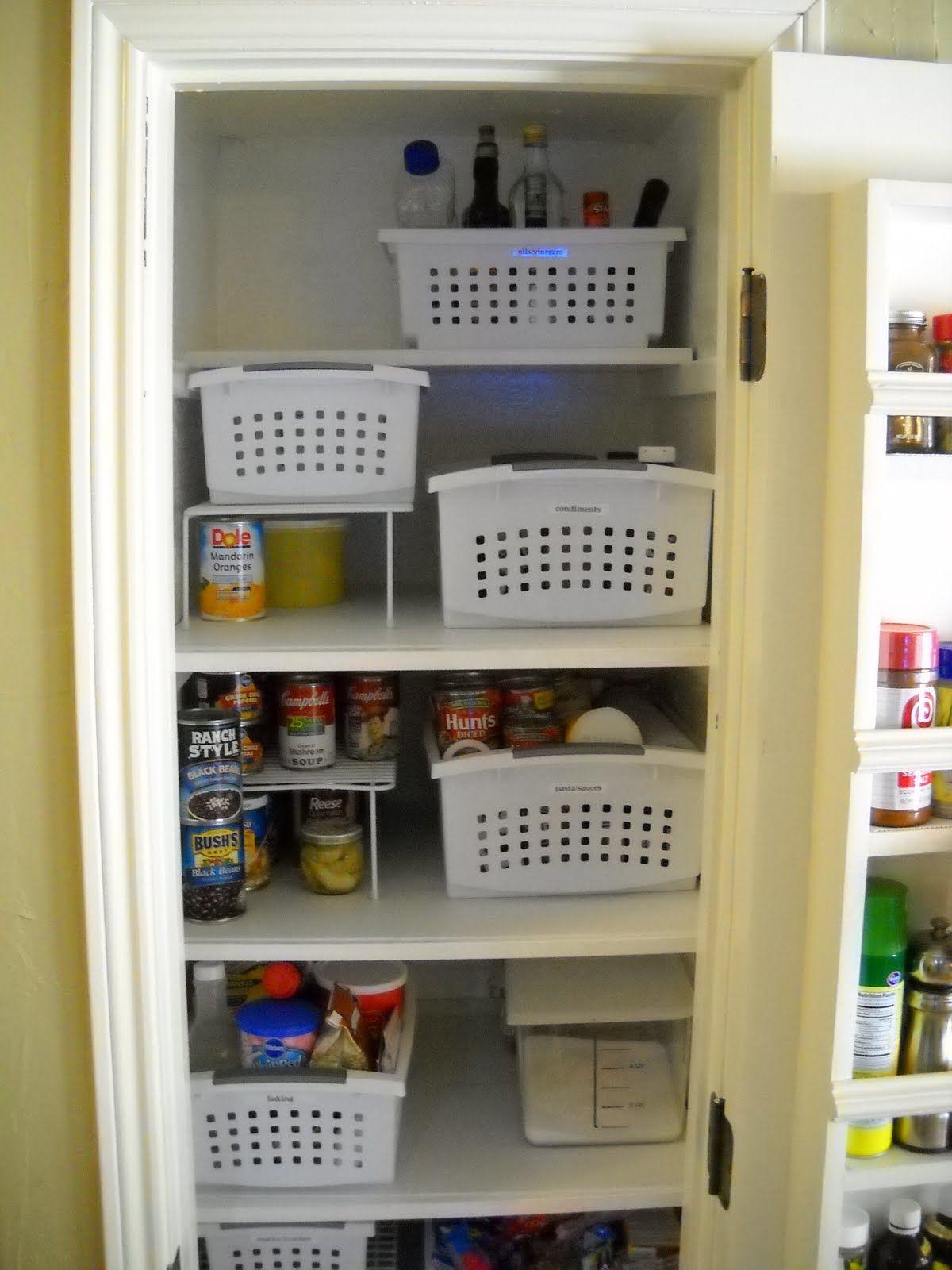 My Newly Organized Pantry Thanks Iheartorganizing For The Inspiration Old Mother Hubbard Pantry Organization Locker Storage