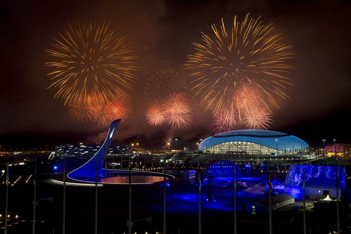 Sochi In Pictures Closing Ceremony