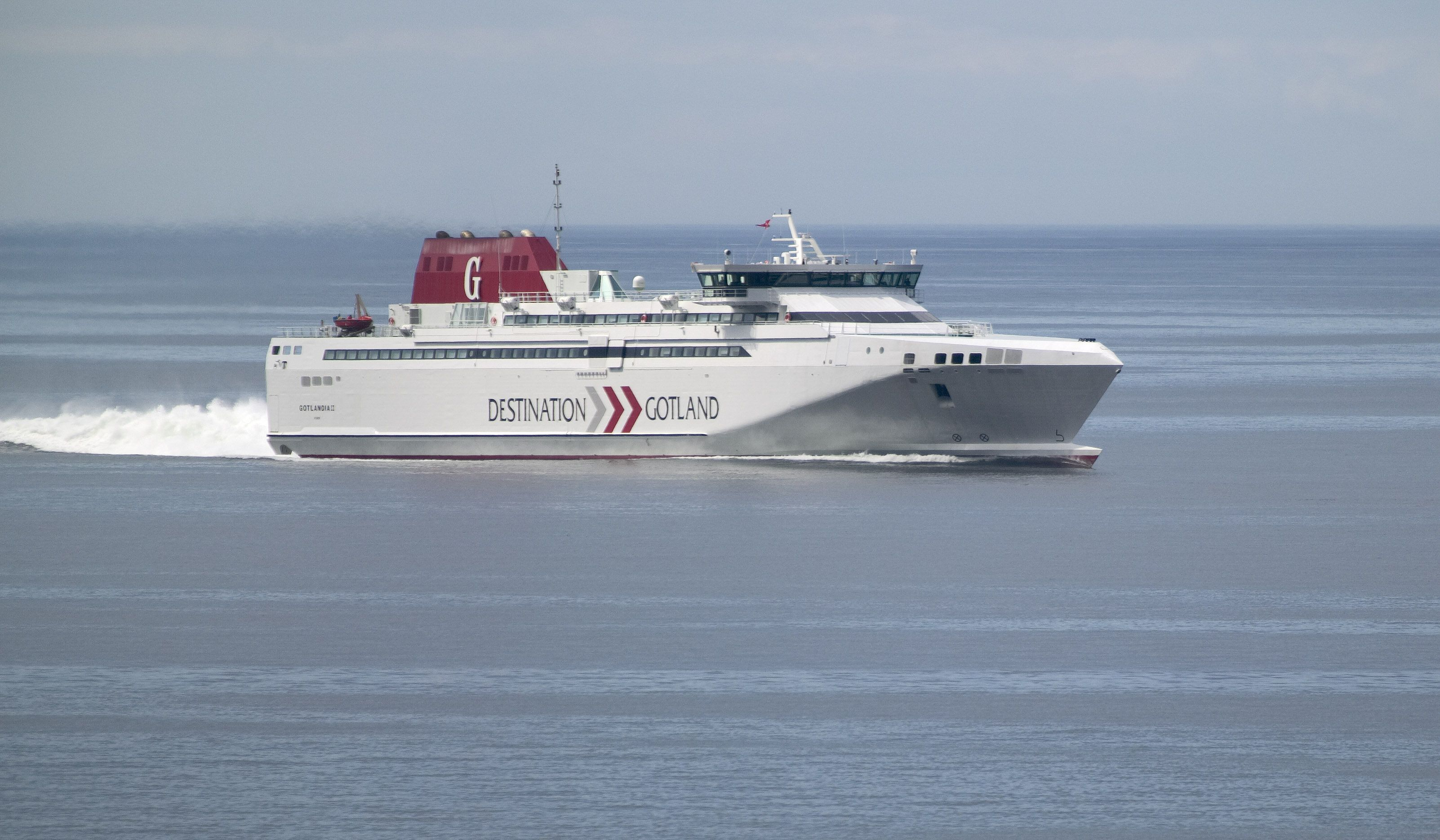 Destination Gotlands Fast Ferry Gotlandia Ii Is Going From