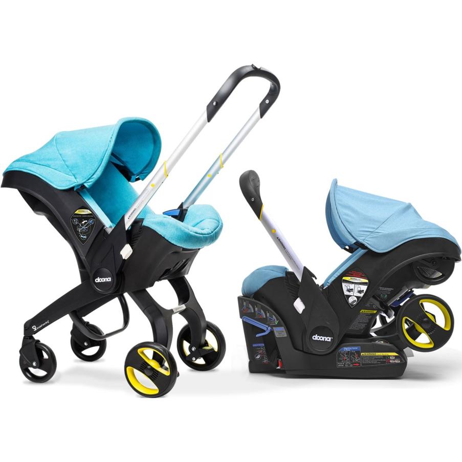 2019 Doona Car Seat Stroller + Base + FREE Seat Protector