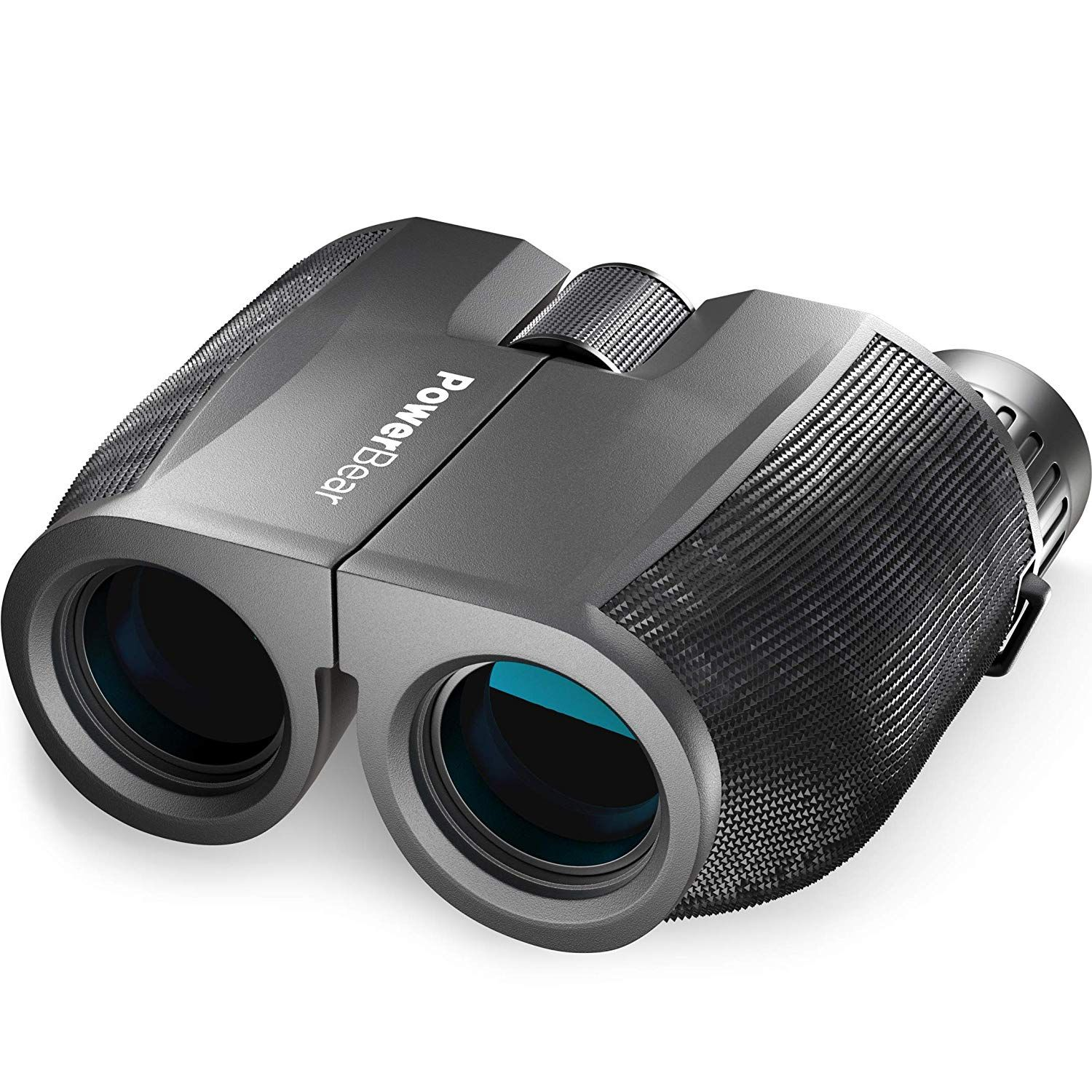 10x25 Compact Binoculars for Bird Watching with BAK4 Roof Prism FMC Lens for Theater Concerts Outdoor Travel 0.53lb Pocket Binoculars Foldable Small Night Vision Binoculars for Adults Kids