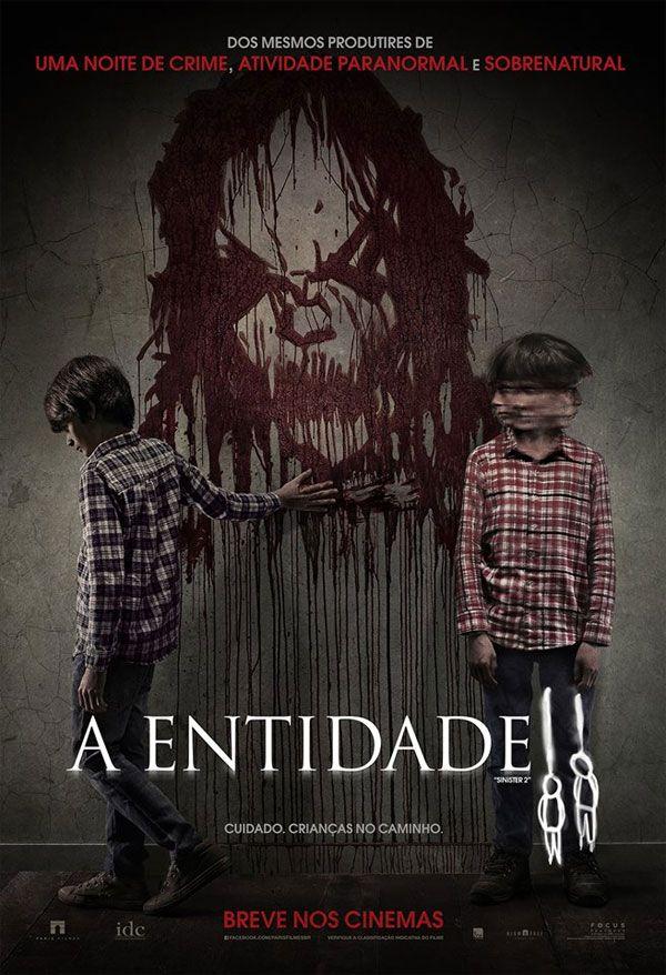 Poster Nacional Do Terror A Entidade 2 Com Imagens Filmes De