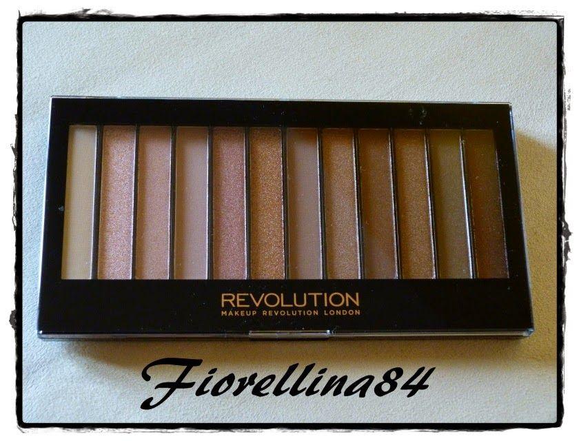 ...Fiorellina84...: Redemption Palette Iconic 3 - Makeup Revolution
