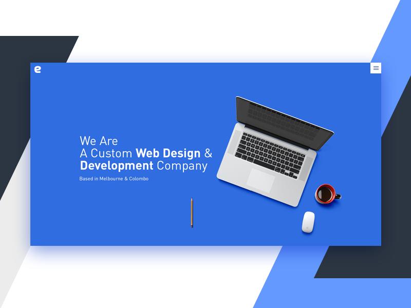 Hero Banner Custom Web Design Web Development Design Banner
