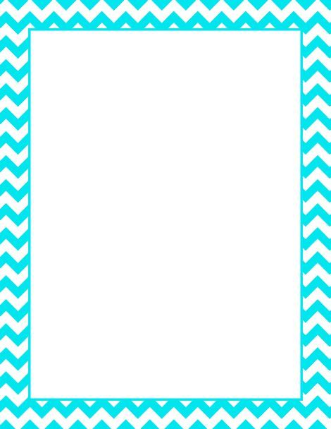 Chevron Border Etiquette Printable Border Baby Borders Clipart - printable bordered paper designs free