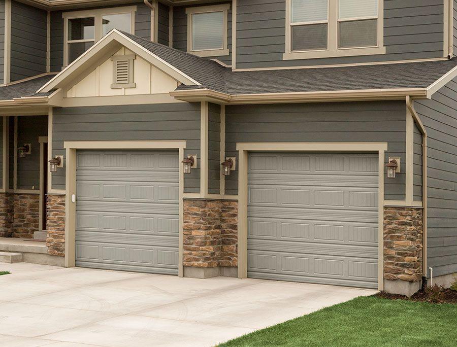 High Quality Martin Garage Door, Grooved Panel Garage Door, Desert Taupe Garage Door.  Curb Appeal
