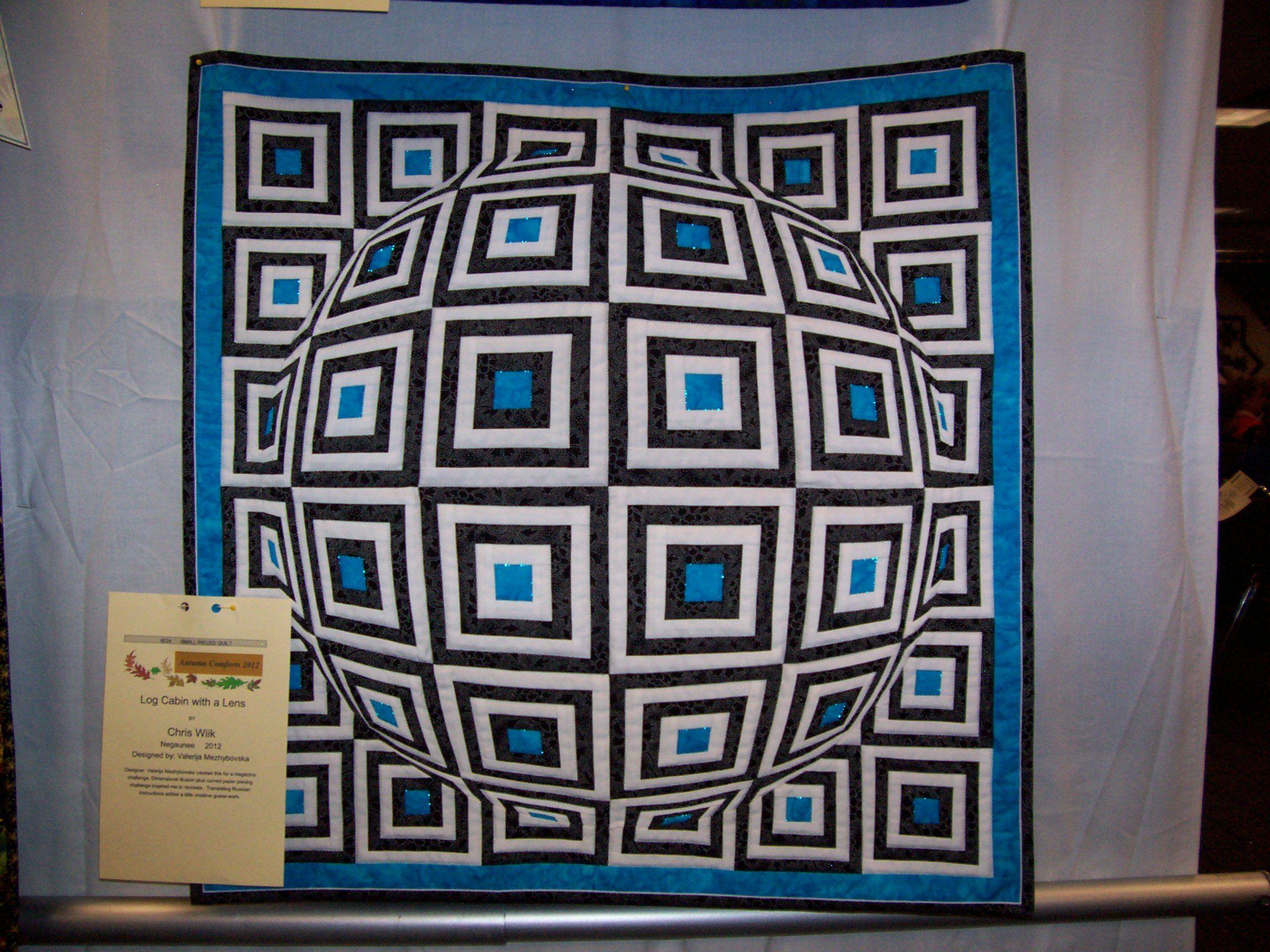 More Marquette Show Quilts - Modern Sunbonnet Sue's Musings | Home ... : 3d quilt designs - Adamdwight.com