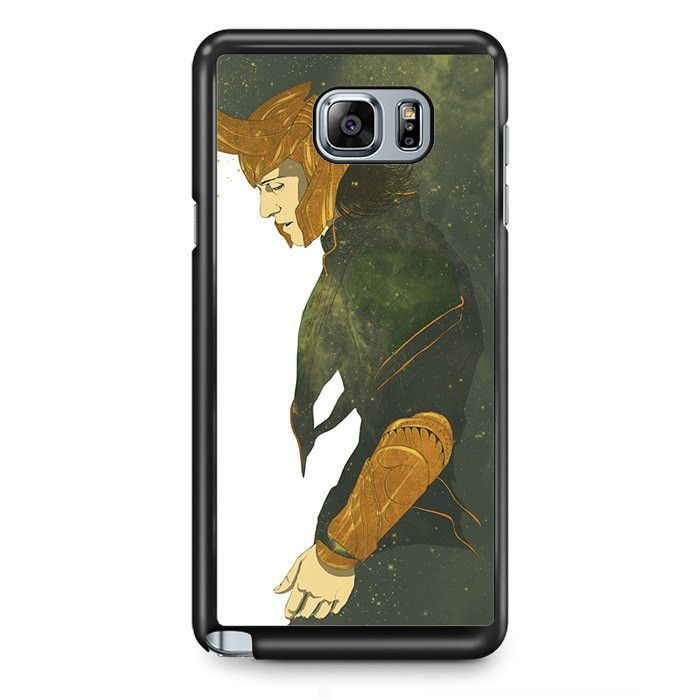 Avenger Loki TATUM-1202 Samsung Phonecase Cover Samsung Galaxy Note 2 Note 3 Note 4 Note 5 Note Edge