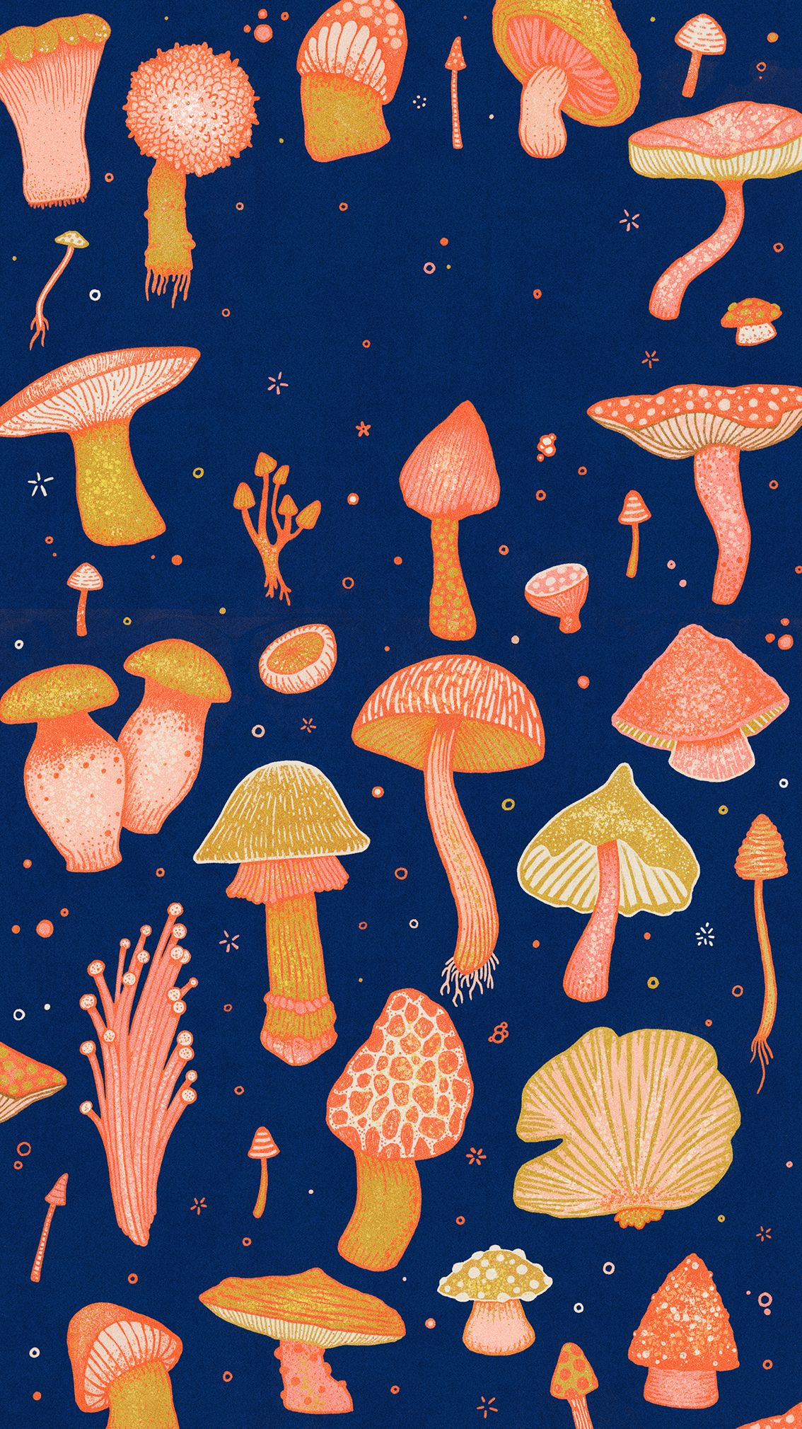 Wallpaper Hippie Wallpaper Mushroom Wallpaper Iconic Wallpaper