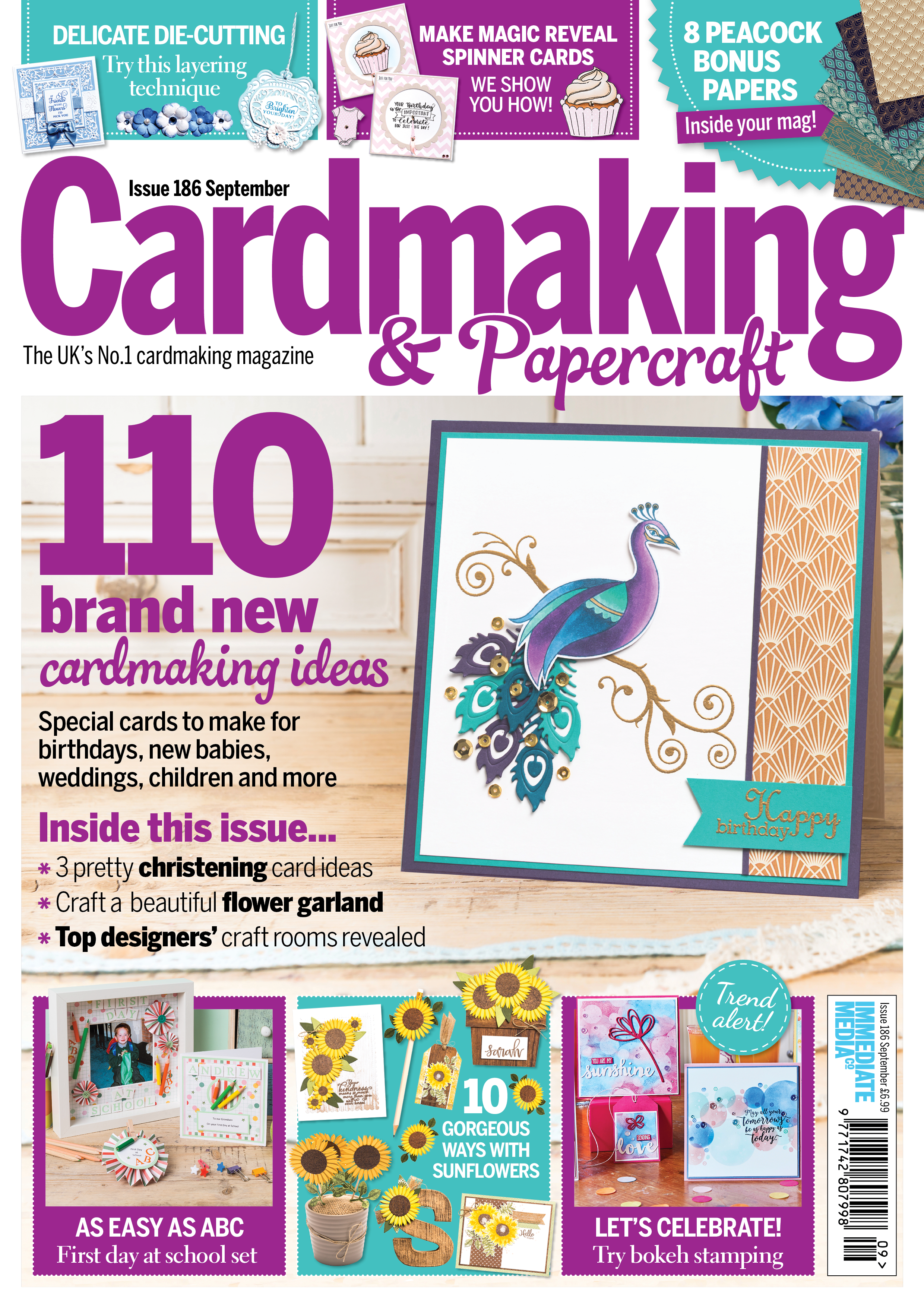 The September Issue Of Cardmaking Papercraft Is Out Now It S Bursting With 110 Ideas For Birthdays Weddin Cardmaking And Papercraft Cardmaking Paper Crafts