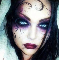 Ghost Hunting Theories: Hauntingly Beautiful Halloween Makeup ...