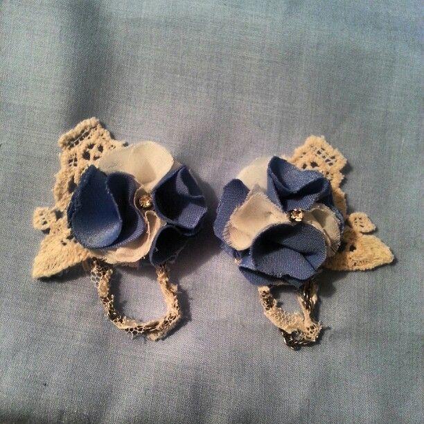 Marie Antoinette inspired Shoe clips