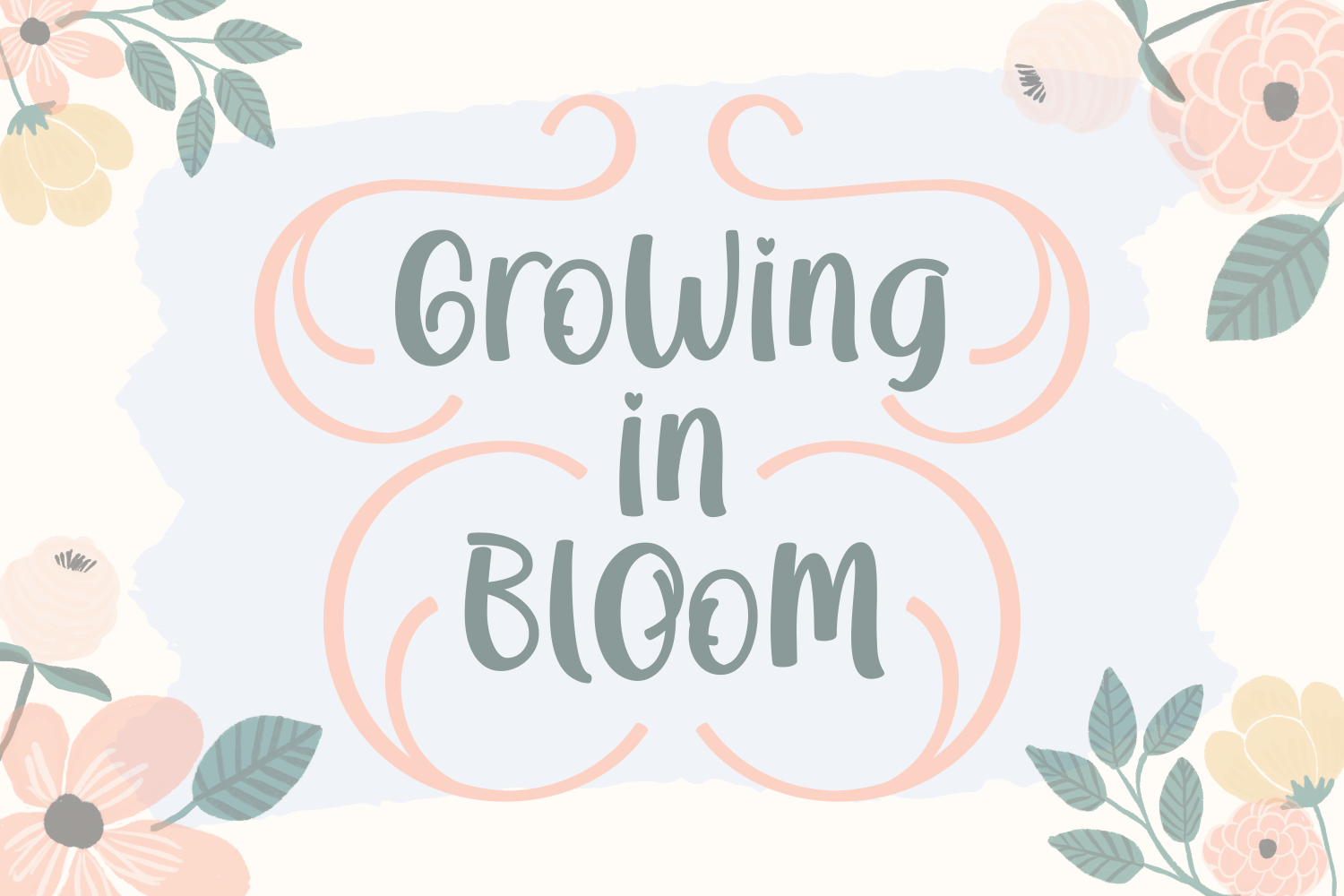 Download Growing in Bloom (Font) by Rifki (7ntypes