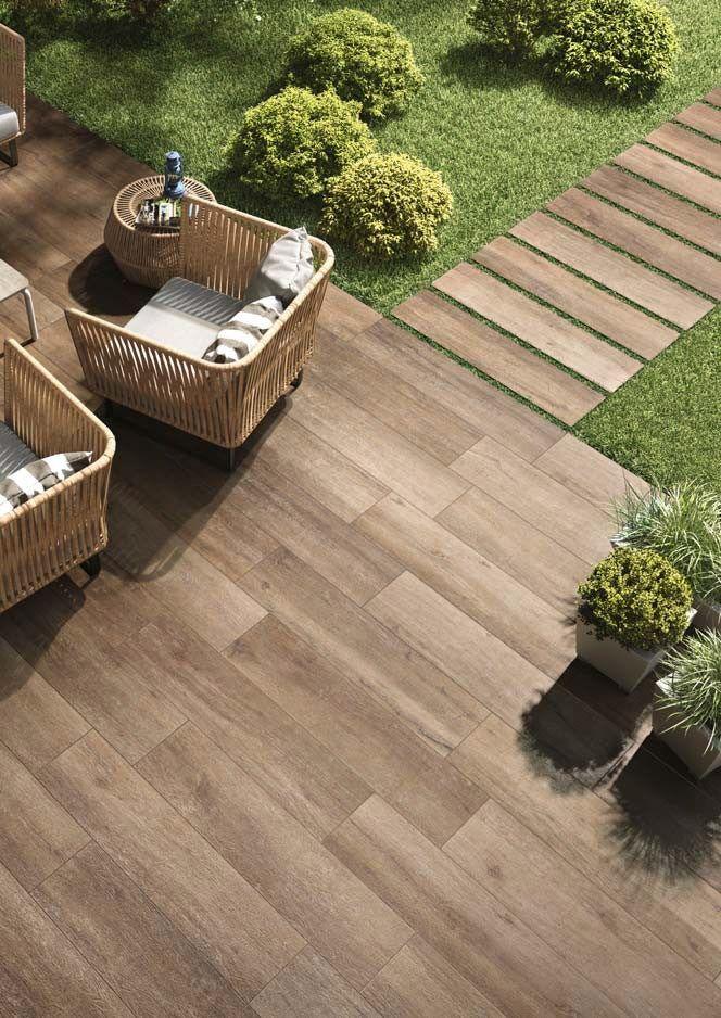 Revestimiento de pared suelo imitaci n madera para for Paredes de madera para jardin