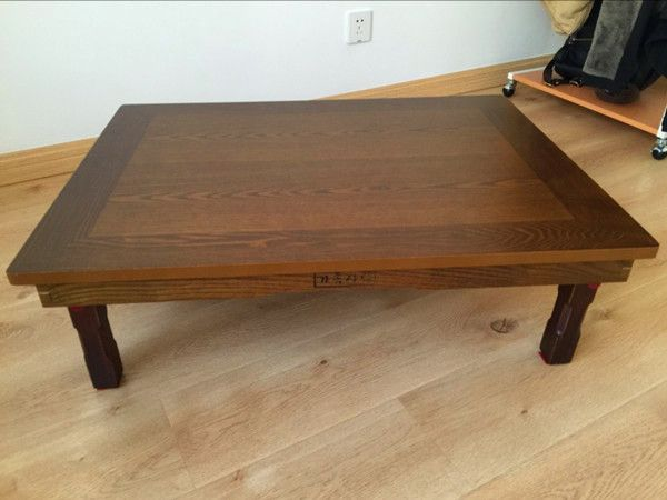 korean table legs foldable rectangle 120x80cm asian antique style rh pinterest com