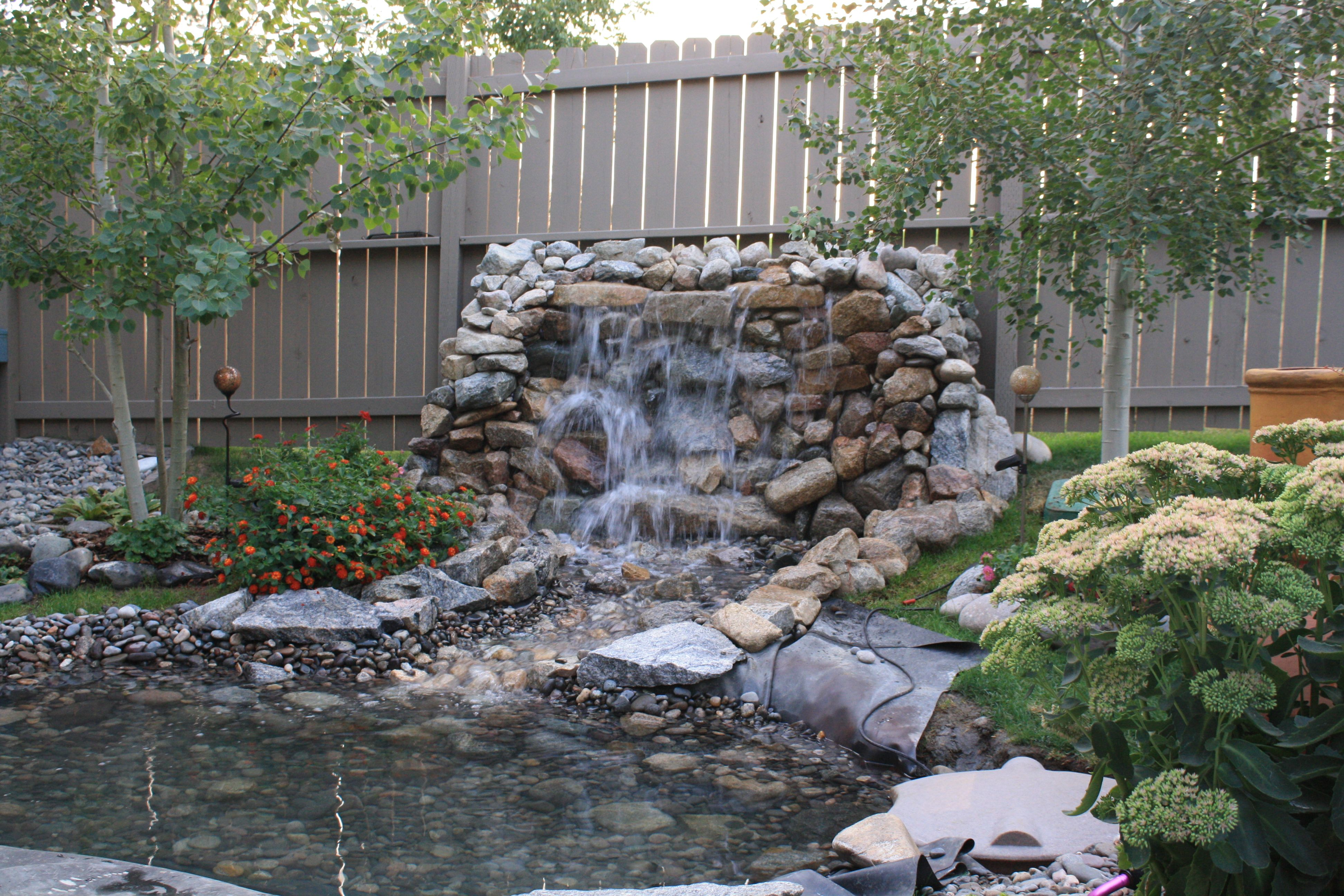 Backyard Water Feature Ideas Indoor - Ztil News